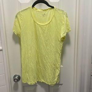 Neon Yellow J. Crew T-Shirt